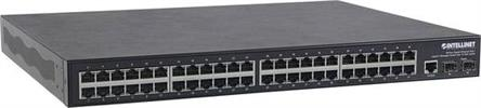 48-Port GigabitEthernet Switch PoE+ Layer2+ Man.Switch 10GB Uplink