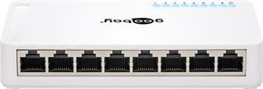 8Port Soho Gigabit Switch 10/100/1000Mbps / Goobay