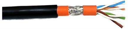 Cat.7 Innen-/Aussenkabel UV-beständig 1200MHz AWG23 S/FTP 250m