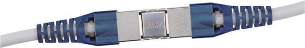 CAT6a 500Mhz werkzeugloser Rohkabelverbinder / Goobay