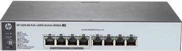 HP 1820-8G PoE+ 65W Netzwerkswitch Gigabit 8Port