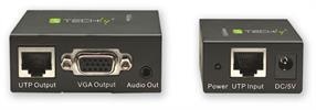 TECHly® VGA- und Audio-Extender über CAT5/6 bis 300m